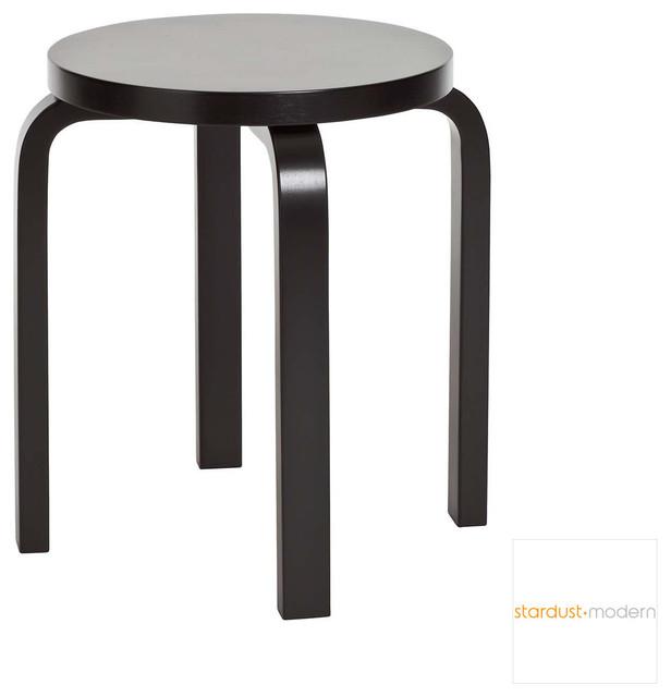 Alvar Aalto E60 Stool by Artek modern-chairs