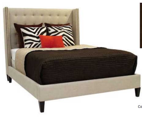 Dakota Leather Bed contemporary-beds
