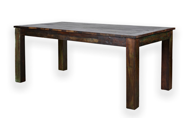 Reclaimed Rosewood 6 Person Dining Table Rustic Dining Tables By South By Far East