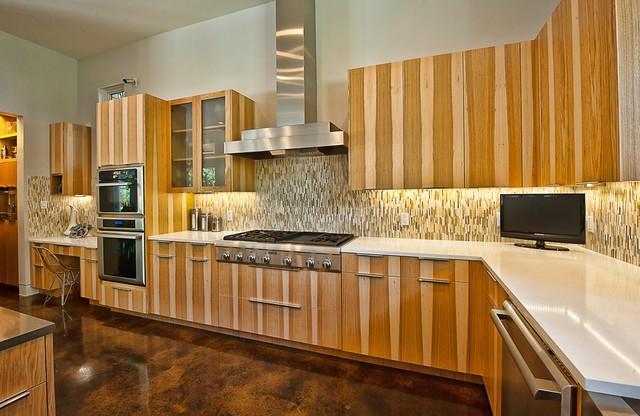 Bowman, Greenbelt Homes, Austin TX contemporary-kitchen