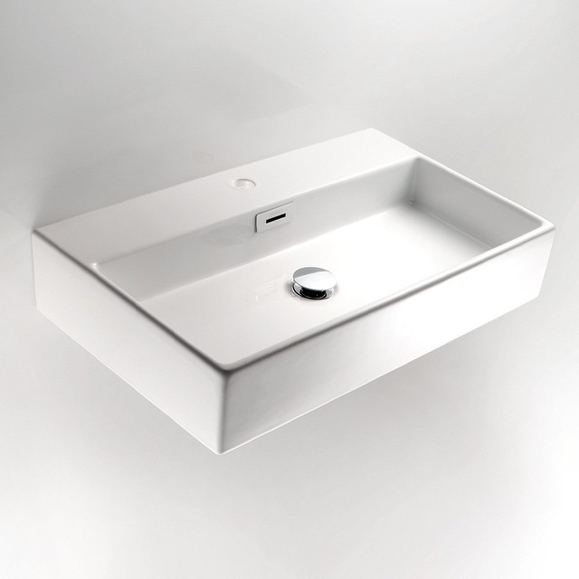Wall Mount Sink By WS Bath Collections Contemporary Bathroom Sinks
