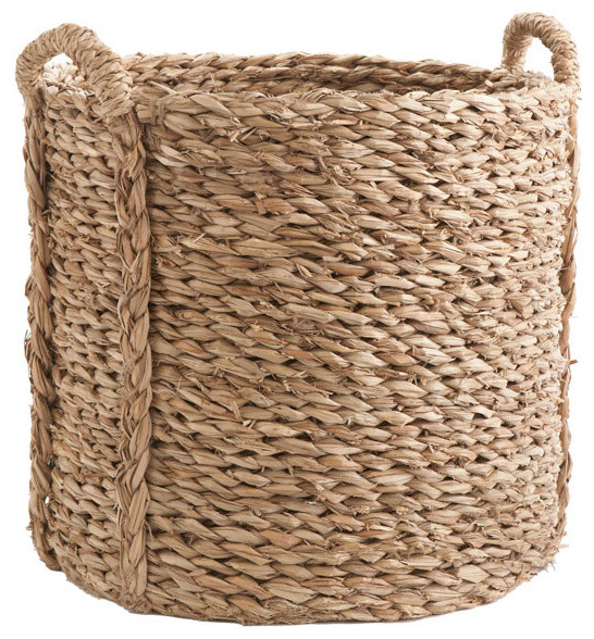 Large Woven Seagrass Basket traditional baskets
