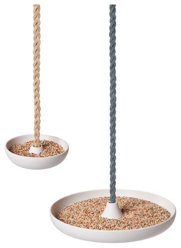 Disc Bird Feeder - Branch contemporary-outdoor-decor