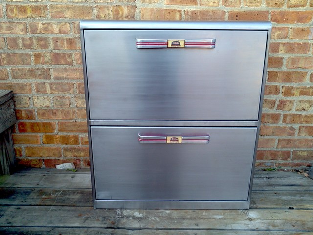 ... 1950's metal vertical filing cabinet modern-filing-cabinets-and-carts