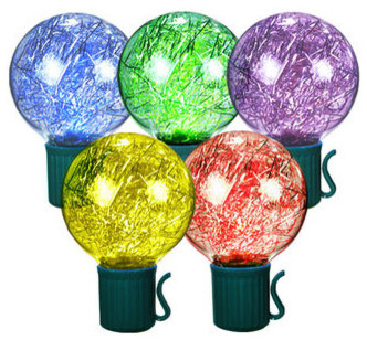 Globe Shaped LED Light Strings traditional-holiday-lighting