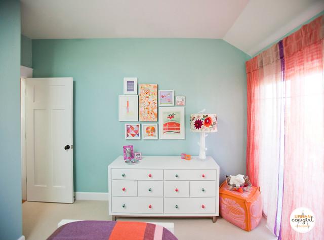 GIRL'S BEDROOM • Corte Madera, California eclectic