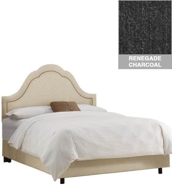 Custom Jameson Upholstered Bed Traditional Beds By Home Decorators Collection