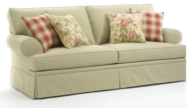 Broyhill - Emily Queen Sleeper Sofa and Loveseat - 6262-7Q / 6262-1Q ...