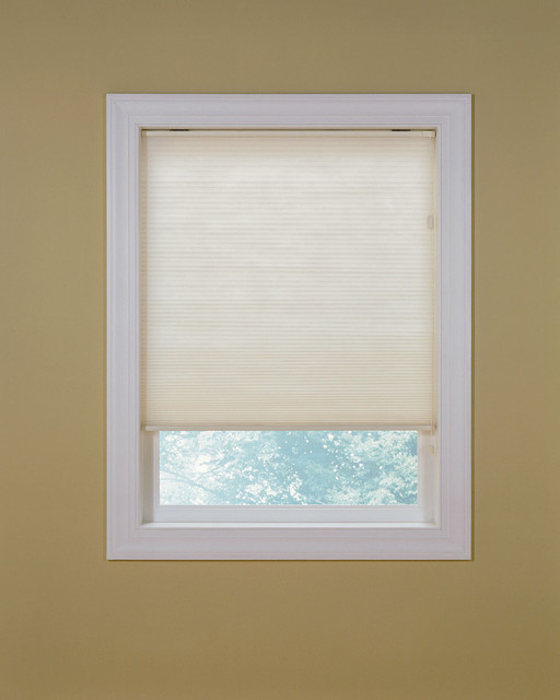 Standard Symphony Honeycomb shade in white  cellular shades