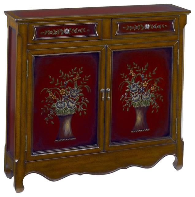 Hammary 090-314 Hidden Treasures Bouquet Accent Chest w/ Hand
