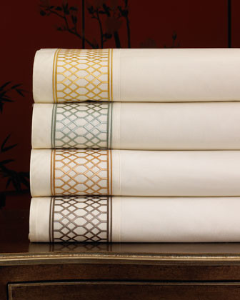 King Lattice Sheet Set traditional-sheets