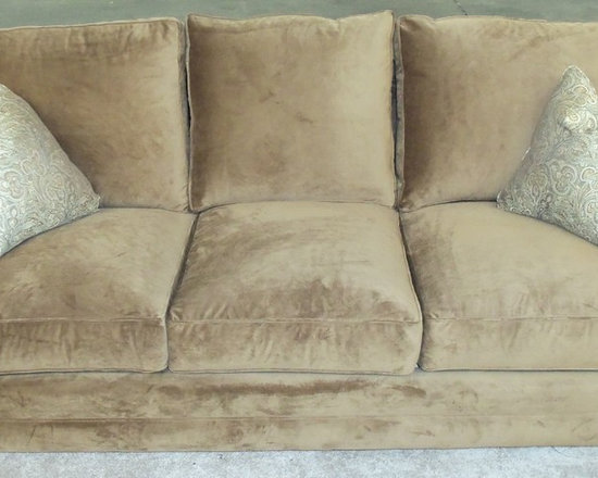 Customer Custom Orders - Comfort Design Camelot Sofa.  You Choose the Fabric or Leather