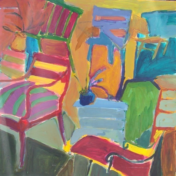 """""""Chairs Chairs Chairs"""" Artwork contemporary-originals-and-limited-editions"""