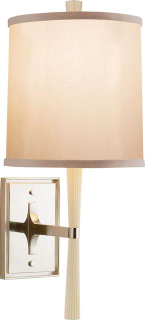 Refined Rib Sconce traditional-bathroom-lighting-and-vanity-lighting