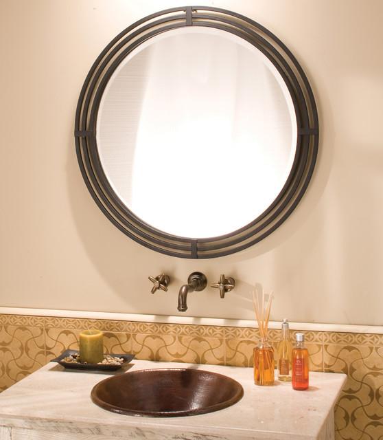Native Trails Asana Mirror Rustic Bathroom Mirrors New York By Direct
