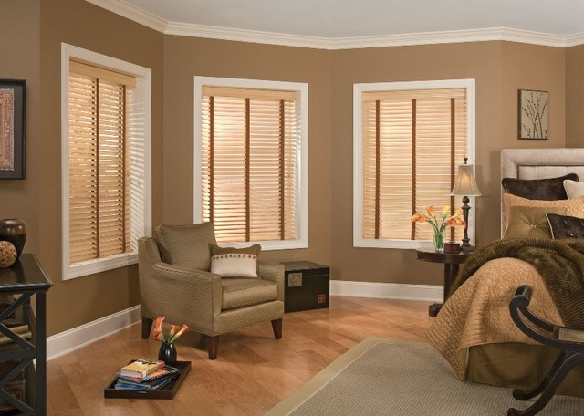 Wood Blinds Contemporary Window Wilmington