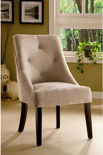 Uptown Microfiber Dining Chair modern-dining-chairs