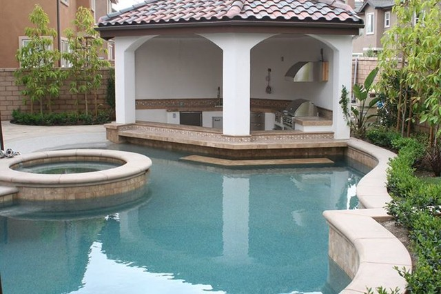 Pool designs mediterranean pool orange county by for Pool design questions
