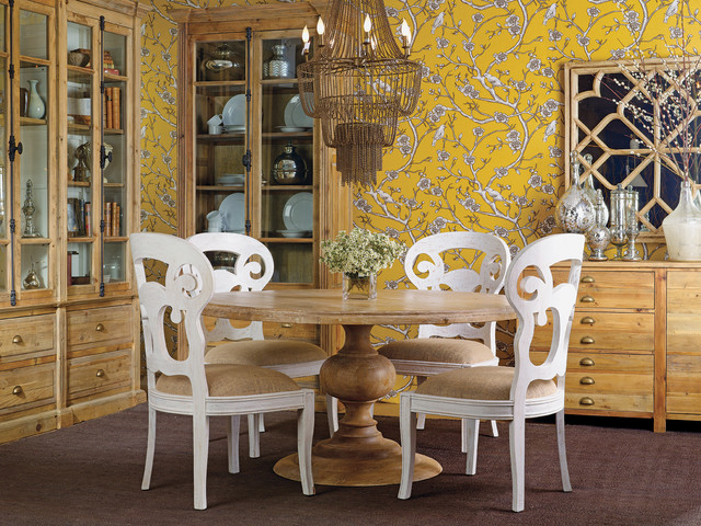 Magnolia dining table antique atelier transitional for Dining room tables houston