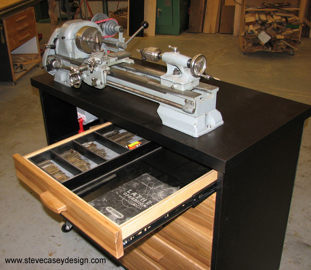 Lathe Cabinet - Contemporary - Storage And Organization - los angeles - by Casey Design Inc ...