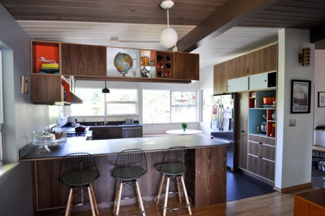 Mc kitchen modern kitchen seattle by kerf design for Kitchen cabinets seattle