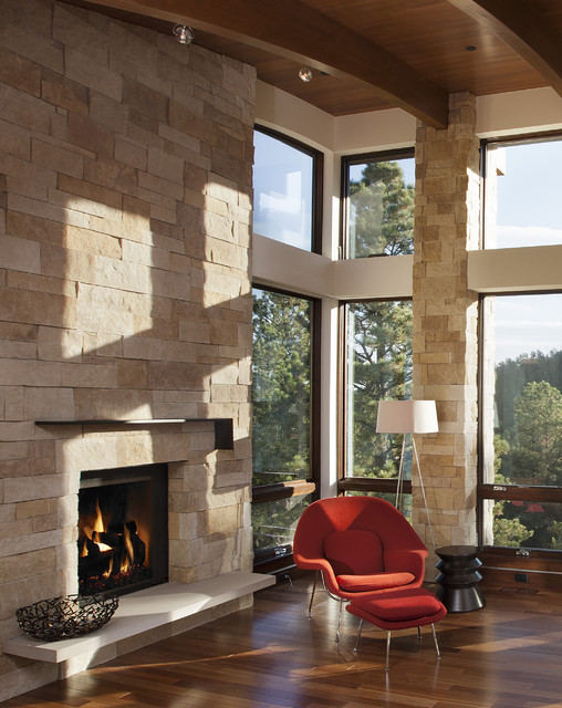 Renaissance rumford fireplace modern indoor fireplaces for Rumford fireplace insert