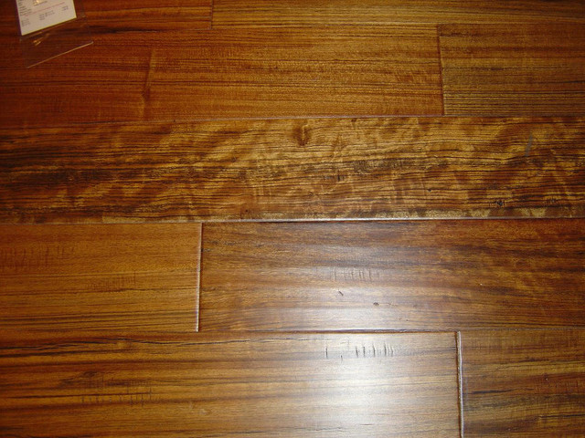 Vintage Couture- Brazilian Teak wood-flooring