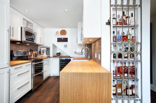 Vancouver - Shaughnessy Condo Kitchen contemporary-kitchen
