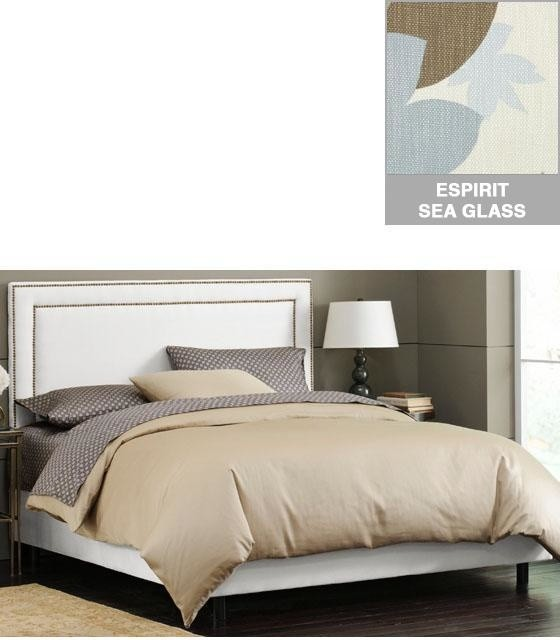 Custom Fitzsimmons Upholstered Headboard Traditional Headboards By Home Decorators Collection