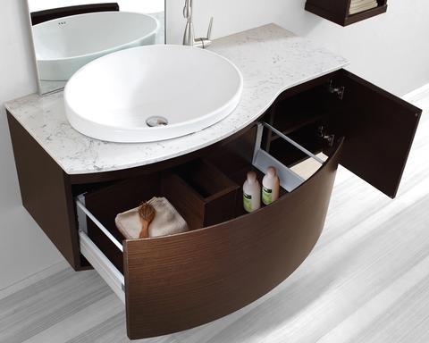 Floating Bathroom Vanities Contemporary New York By