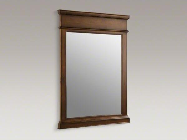 kohler thistledown r 27 1 2 quot w x 37 1 2 quot h wood frame