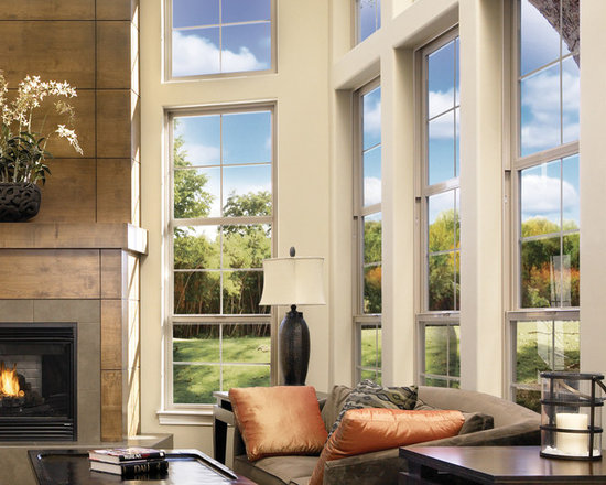 Interior Shots for Window Installs - For a larger than life view - Milgard Product Catalog