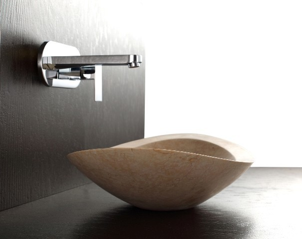 Nero - Galala Limestone Basin modern-bathroom-sinks