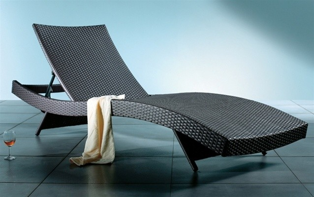 Azih Contemporary Chaise Lounge Contemporary Outdoor Chaise Lounges Las