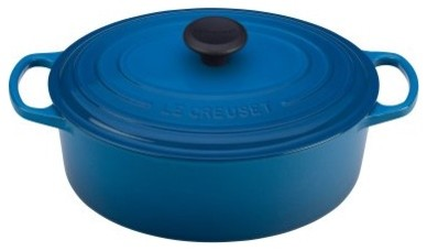 The Le Creuset Marseille Signature Oval French Oven is a sensational addition to modern-ovens