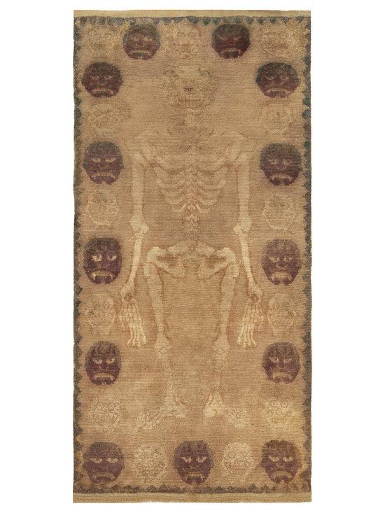 Timeless Chinese Rugs - A Tibetan Rug BB5123