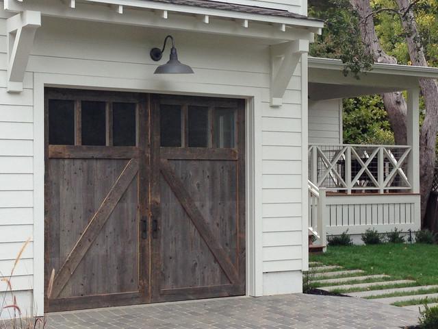 Wood Stained Garage Doors Modern Garage Doors And Openers San Diego B