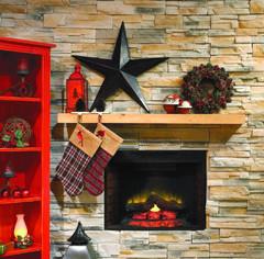 Authentic Style Christmas Decor : Cozy Christmas   RONAMAG