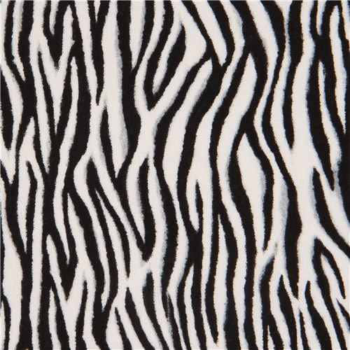 Black white zebra print fabric by timeless treasures usa fabric by