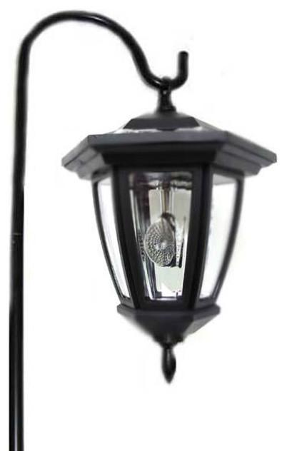 Shepards Hook Solar Hanging Lantern Set of 6