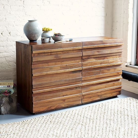 Stria 6-Drawer Dresser modern dressers chests and bedroom armoires