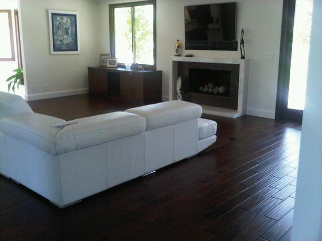 Family room contemporary-living-room