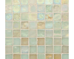 Oceanside Glasstile - Tessera Sandstone eclectic bathroom tile