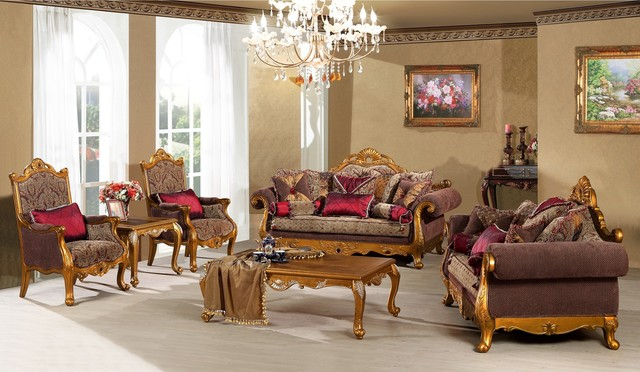 Contessa Luxury Living Room Sofa Set Victorian Living