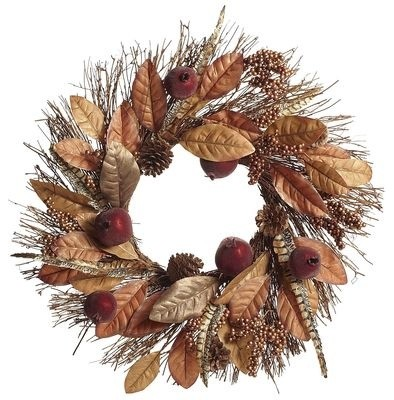 Contemporary Wreaths And Garlands by Pier 1 Imports