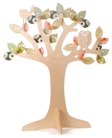 Enchanted Tree eclectic kids decor
