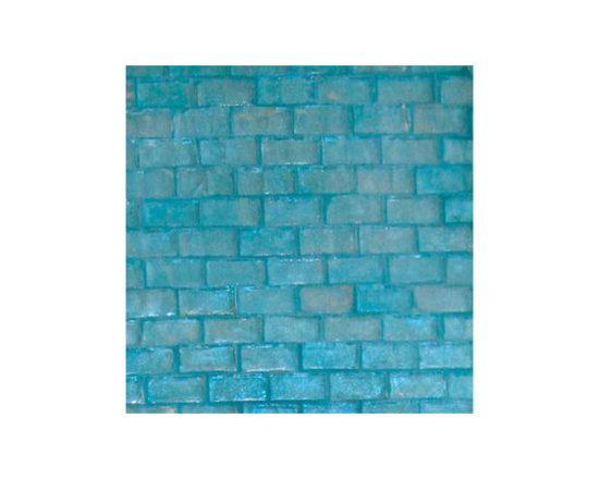 Ocean Brick Glass Mosaic -