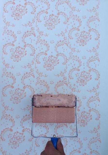 NotWallpaper Patterned Paint Roller, Floral Paisley ...