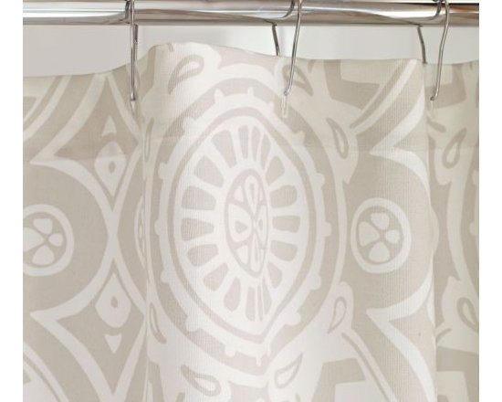 Serena & Lily - Shower Curtain Rings - Even the littlest details are chosen with care. Simple and classic with a shiny chrome finish this is our absolute favorite shower ring. Designed by Moen with smooth-rolling ball bearings that won &apos t snag, tug or pull the curtain.