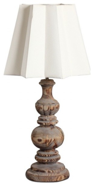 country style handmade wooden carved table lamp traditional table. Black Bedroom Furniture Sets. Home Design Ideas